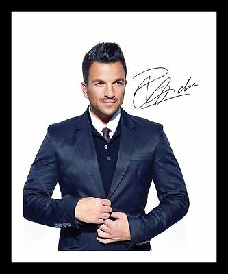 Peter Andre Autographed Signed & Framed Pp Poster Photo