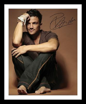 Peter Andre Autographed Signed & Framed Pp Poster Photo 2