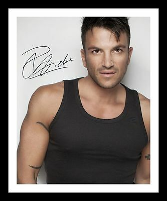 Peter Andre Autographed Signed & Framed Pp Poster Photo 3