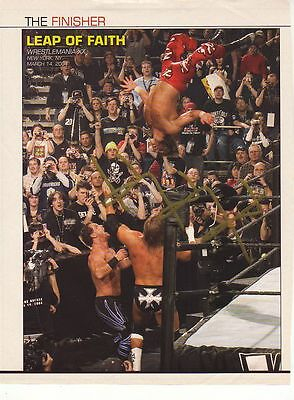 Wwe Wwf Triple H Hhh Autographed Hand Signed 8X10 Photo Wrestling Picture