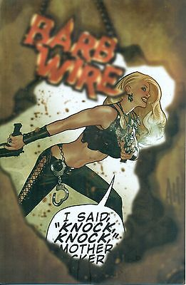 Barb Wire Vol 2 #5 By Warner & Olliffe Adam Hughes Cover - Dark Horse NM/M 2015