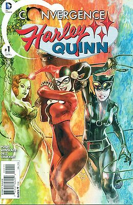 Convergence Harley Quinn #1 By Pugh & Wilslade Catwoman Poison Ivy App NM/M 2015