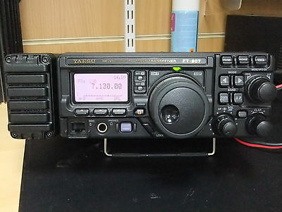 Used Yaesu Ft-897 Hf/vhf/uhf Transceiver With Fc-30 Fitted