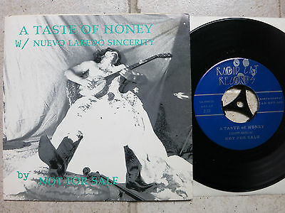 "Not For Sale ‎– Taste Of Honey / Nuevo Laredo Sincerity  7"" Single near mint"