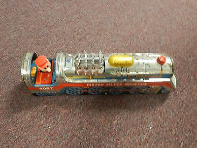 Vintage Golden Piston Express #4067 in box tin toy train made in Taiwan R.O.C.