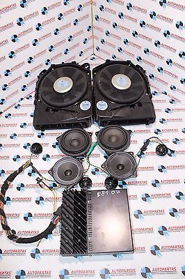 Bmw 1 Series E87 Complete Set Speakers Hifi System Loudspeaker Bass Amplifier