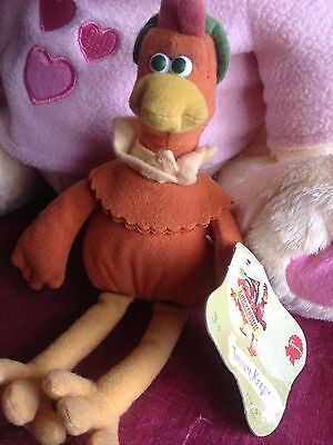 Chicken Run Character With Tag