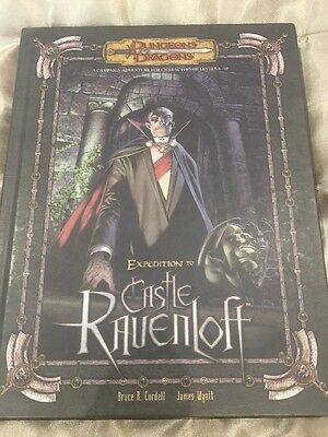 Dungeons & Dragons Expedition To Castle Rauenloft 2006 First Printing