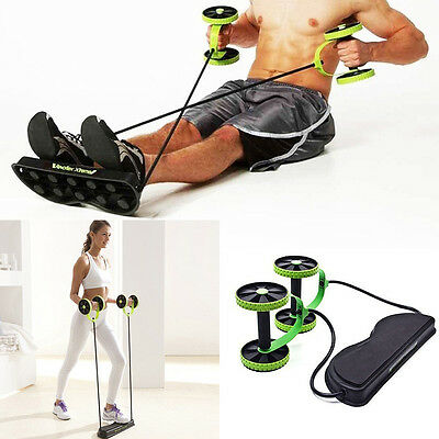 Fitness Abdominal Strength Trainer ABS Workout Resistance Home Gym Body Exercise