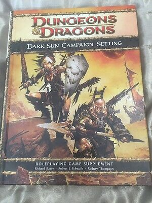 Dungeons & Dragons 4th Edition Dark Sun Campaign Setting 2010