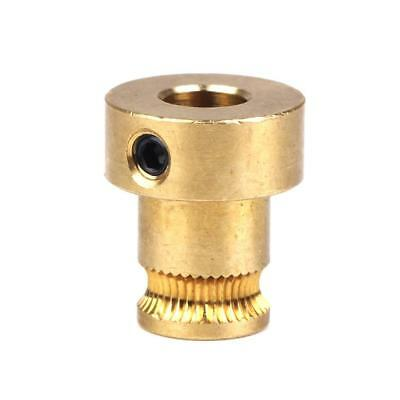 Gold Extruder Drive Gear for 1.75mm Filament KOSSEL Repra 3D Printer Parts
