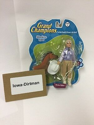 Grand Champions Adventure Rodeo Rider Figure cowgirl 50241 used