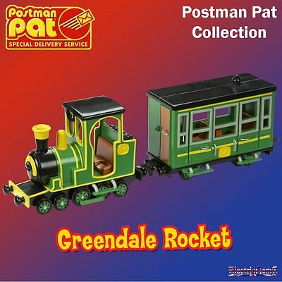 Postman Pat SDS Special Delivery Service Greendale Rocket Train Vehicle