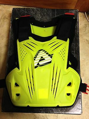 Acerbis Impact Chest Protector Flo Yellow Motocross Adult