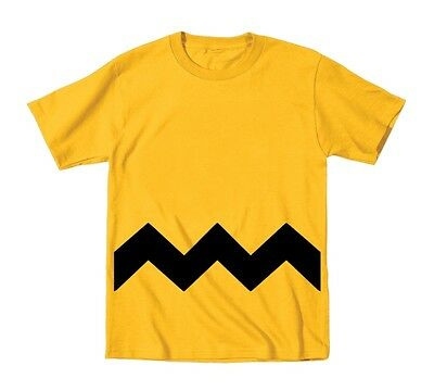 Charlie Brown Toddler Stripe  Costume  Baby  Kids Gold Toddler T-Shirt