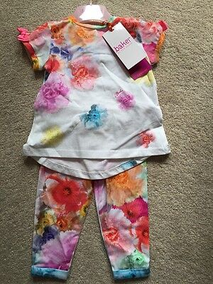 Ted Baker T Shirt & Leggings Age 3-4