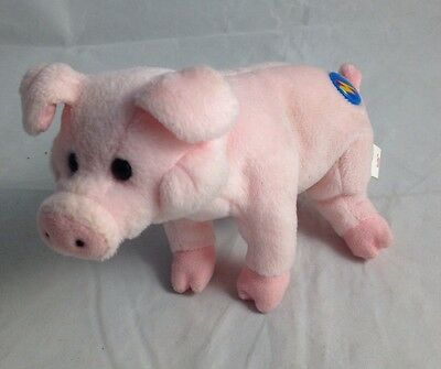 Ty Beanie Baby 2.0 Collection Sniffs The Pink Pig