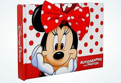 Disney Parks Walt Disney World Minnie Dot Autograph & Photo Book New