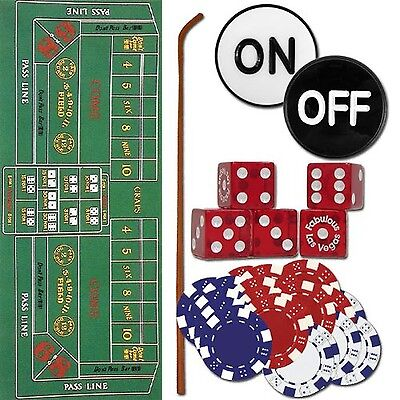 Trademark Craps Set - All The Pieces To Play Now Craps Set Multi