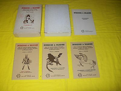 Dungeons & Dragons White Box Set Oce - 6 Complete