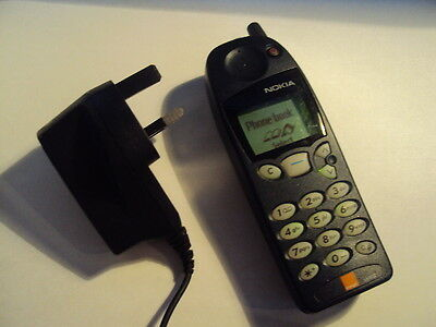 Nokia 5130 Nk402 Retro Mobile Phone On Orange Good Condition+Charger