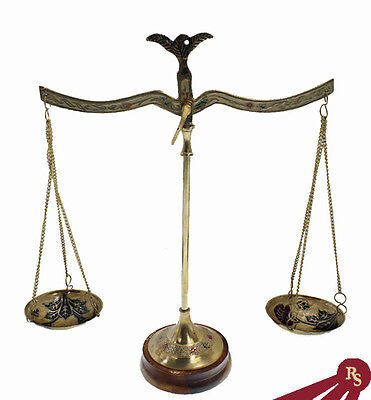BRASS APOTHECARY SCALE - Decorative Paintings - DISPLAY