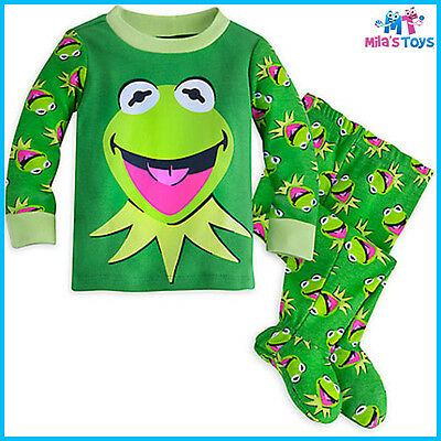 Disney The Muppets Kermit the Frog PJ PALS Pyjamas for Baby sizes 3-18 months