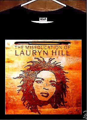 Lauryn Hill T shirt; The Miseducation Of Lauryn Hill Tee Shirt