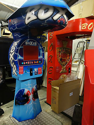 JAKAR MATRIX BOXER BOXING PUNCH MACHINE WORKING coin op arcade club etc