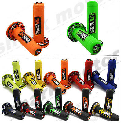 "7/8"" ATV Dirt Motorcycle Hand Grips Handle Bar Grip Pit Dirt Bike MOTOCROSS"