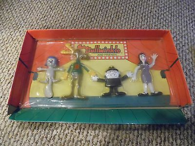 BULLWINKLE AND FRIENDS -1991 Jesco bendable figures