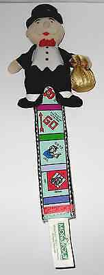 2004 Hasbro Monopoly Monopoly Bookmarks Lightly Used.
