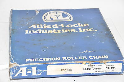 "Allied Locke Precision Roller Chain # 80 P 1"" x 5/8"" 10Ft."