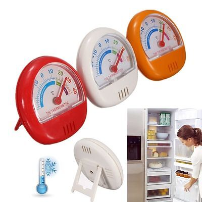 Dial Pointer Refrigerator Fridge Thermometer Freezer Kitchen Room Temperature