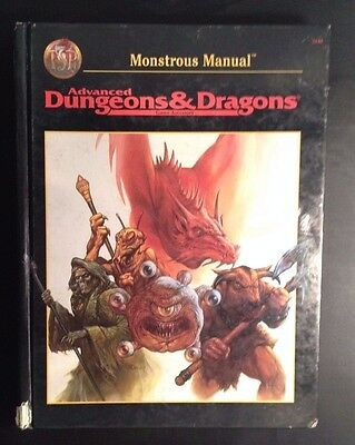 Advanced Dungeons and Dragons: Monstrous Manual 2140 DD