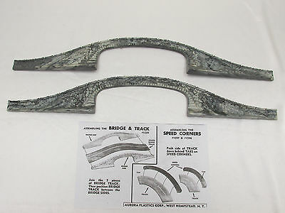 Aurora Model Motoring Country Bridge Sides ~ Very Nice, Used Condition!