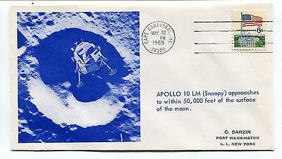 1969 Apollo 10 LM Snoopy Port Washington L.I. New York Space Cover