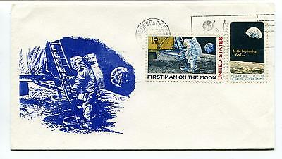 1969 First Man on the Moon US Kennedy Space Center Space Cover