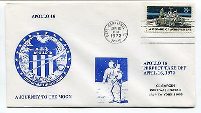 1972 Apollo 16 Young Mattingly Duke a Journey to the Moon Perfect Space Cover