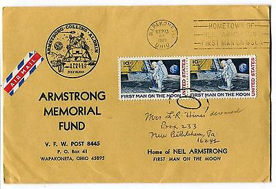 1969 Armstrong Memorial Fund First man on the Moon Apollo 11 Space Cover