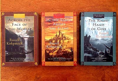Fire Of Heaven Trilogy Complete. RUSSELL KIRKPATRICK. Epic Fantasy. Oz Seller!!