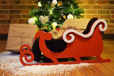 Christmas Pet Bed Festive Style Sleigh . Ideal Christmas Gift !!