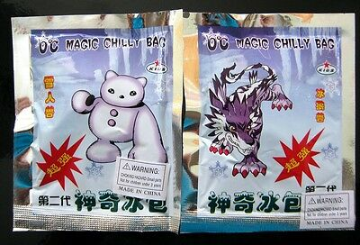 Bulk Lot x 5 Magic Chilly Bags Cool Down Fast in Summer New Novelty