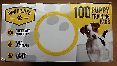 100 Dog Puppy Training Cat Pet Potty Training Pads Large Pee Train Pad Mats