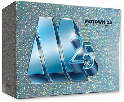 Motown 25: Yesterday Today Forever - 6 DISC SET (2016, DVD NEW)