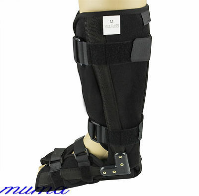 Universal Neoprene Walker Boot Brace Support Fracture Ankle Foot Sprain Injury
