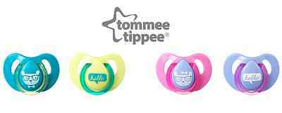 Tommee Tippee Decorated Cherry Soothers 6-18m