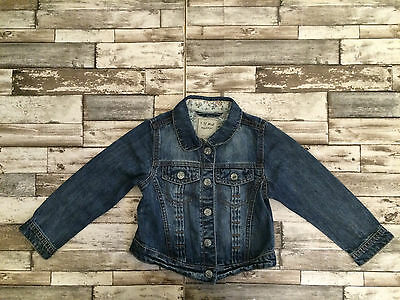 next girls denim jacket age 3-4