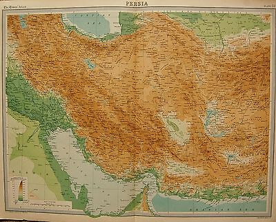 1920  Large  Map : Persia