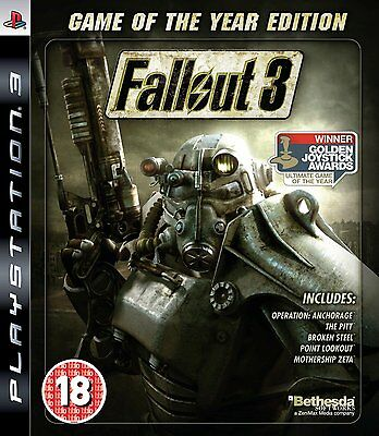 Fallout 3: Game Of The Year Edition (GOTY) (PS3)
